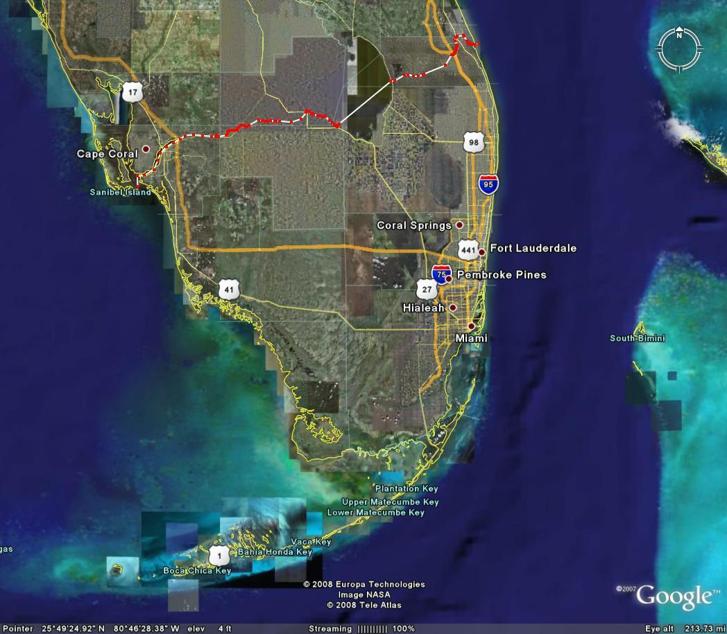 Google Map Of South Florida | Modelautoszeeland - South Florida Map Google