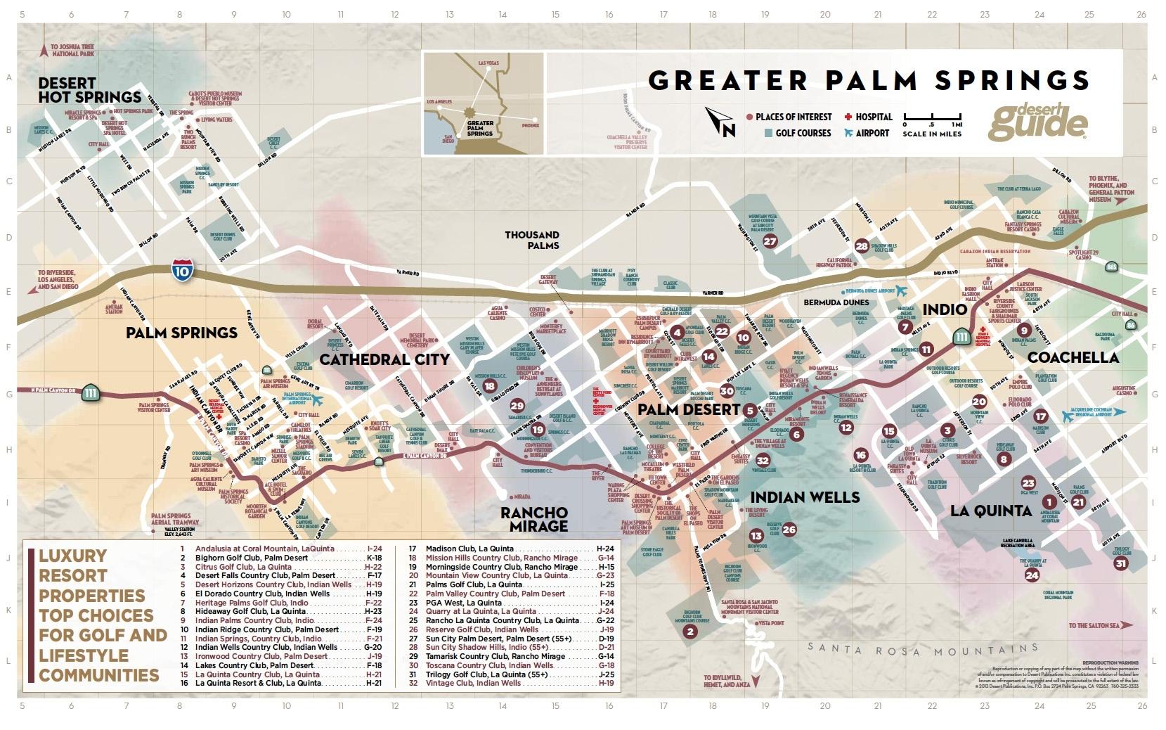 Google Map Palm Desert California – Map Of Usa District - Where Is Palm Desert California Map