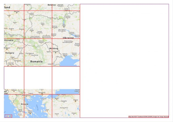 Printable Google Maps
