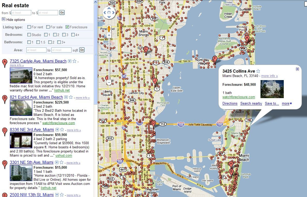Google Maps Bc Canada Inspirational Miami Beach Florida Map Usa Of 3 - Google Map Miami Florida