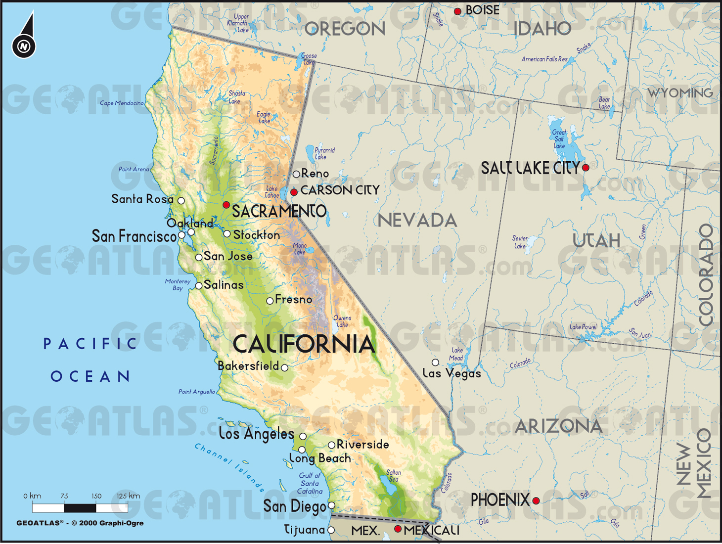 Google Maps California Cities Map California California Maps - Google Maps California