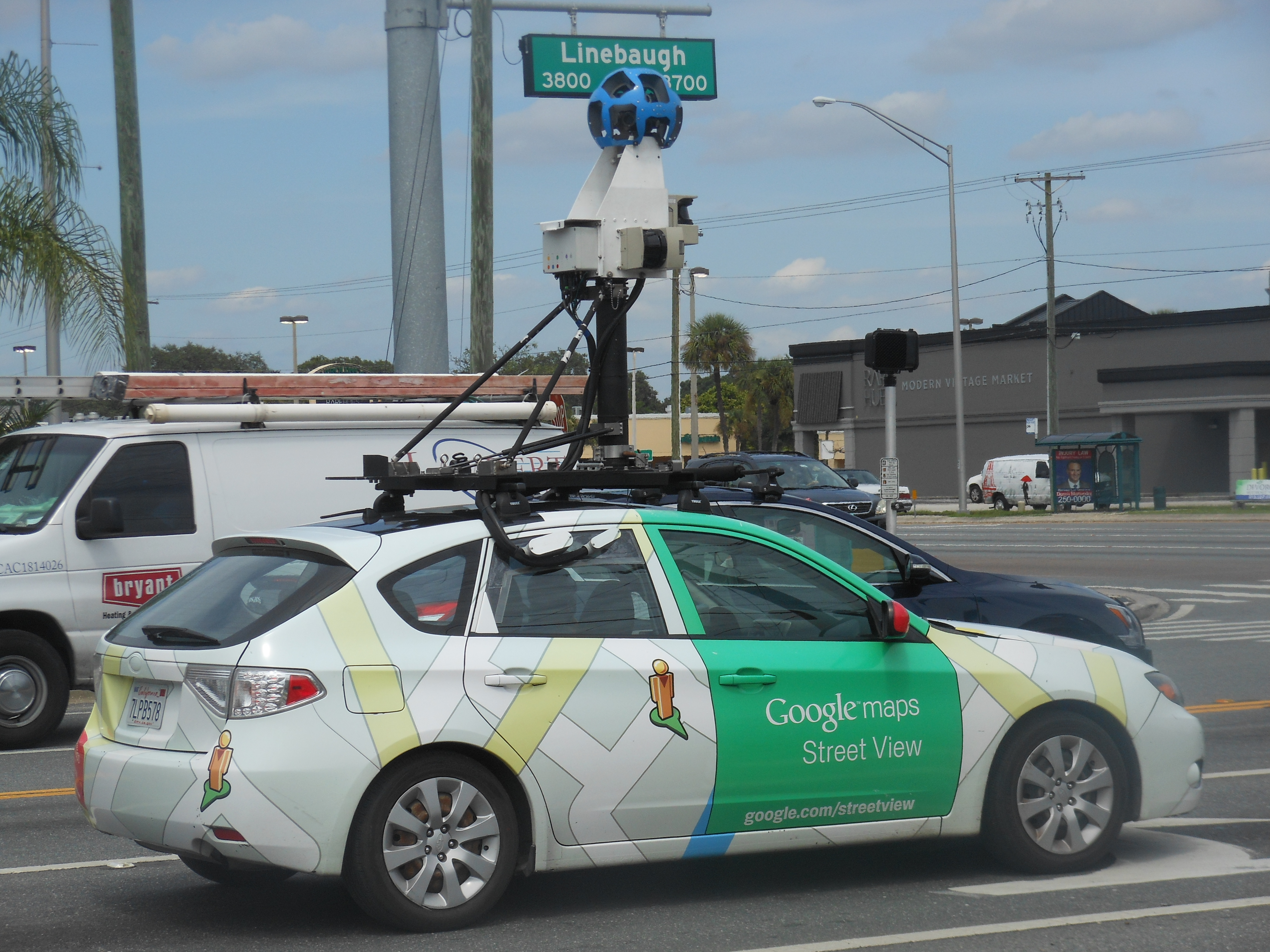 Google Maps Car In Tampa Area | News Blog - Google Maps Tampa Florida