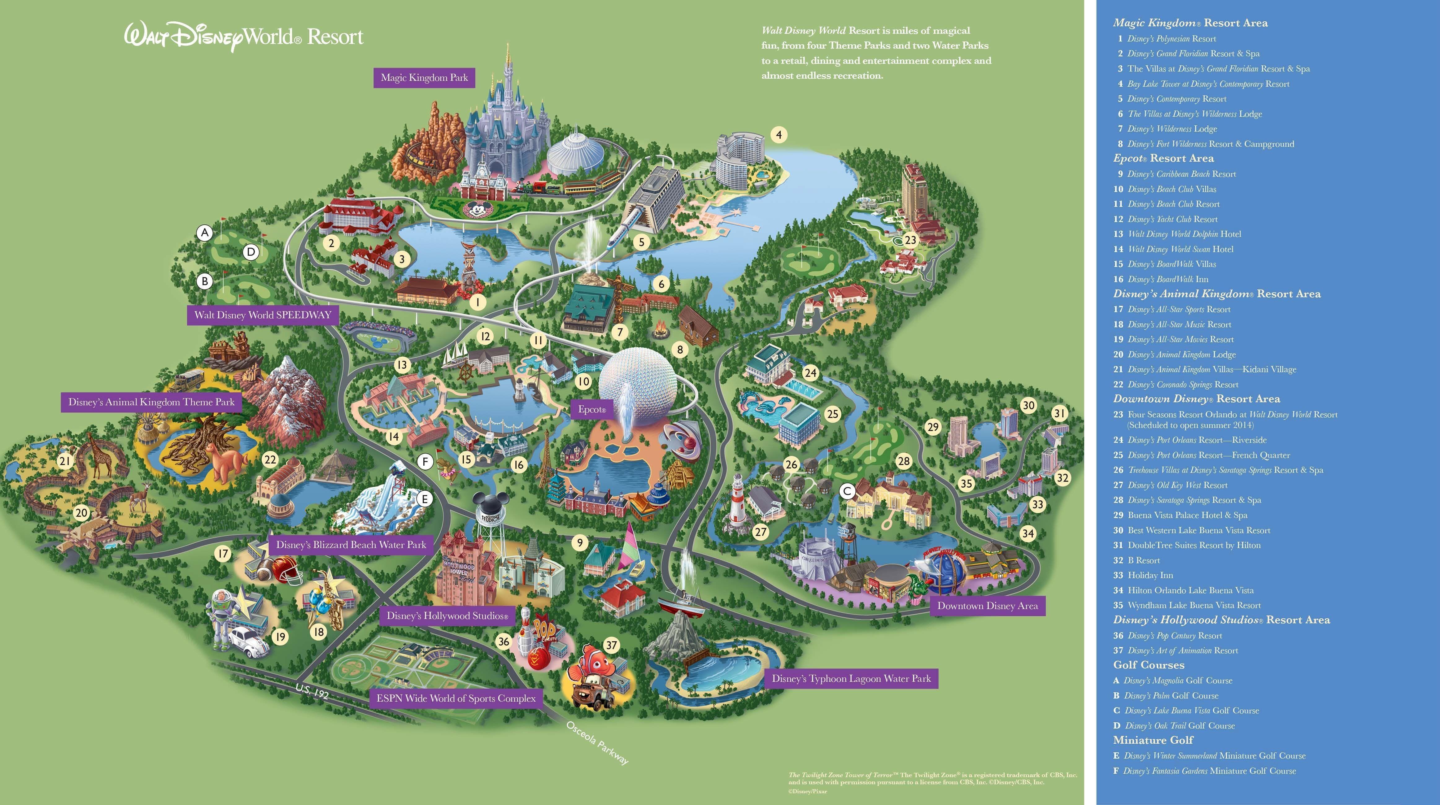 Google Maps Disney World - O-Voyance - Google Maps Hollywood Florida