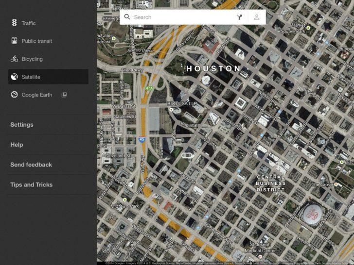 Google Maps Street View Houston Texas