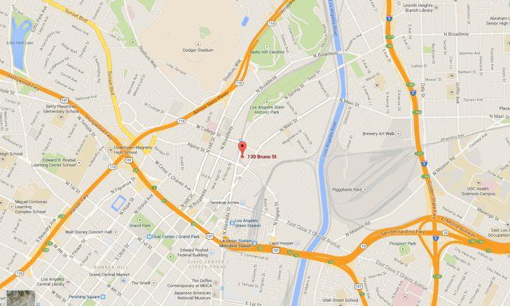 Google Maps Los Angeles California