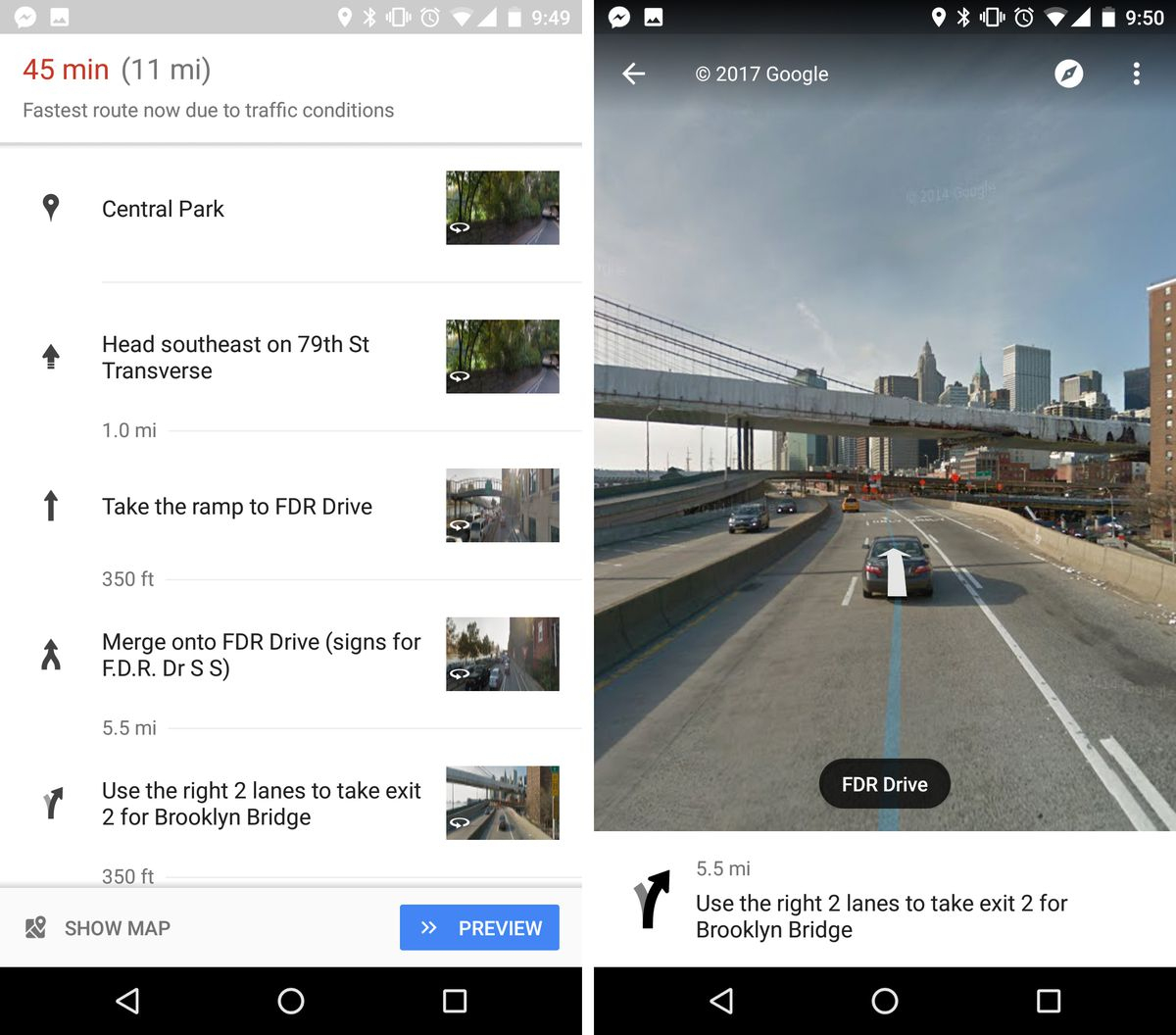 Google Maps Now Uses Street View To Show You Exactly Where To Make - Google Maps Street View Houston Texas