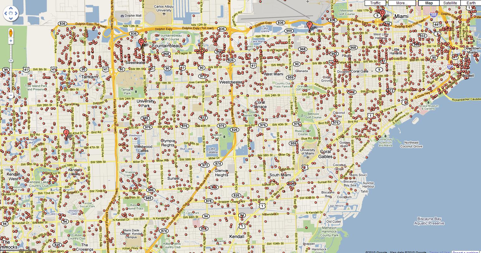 Google Maps Récompense Ses Contributeurs - Ere Numérique - Google Maps Miami Florida