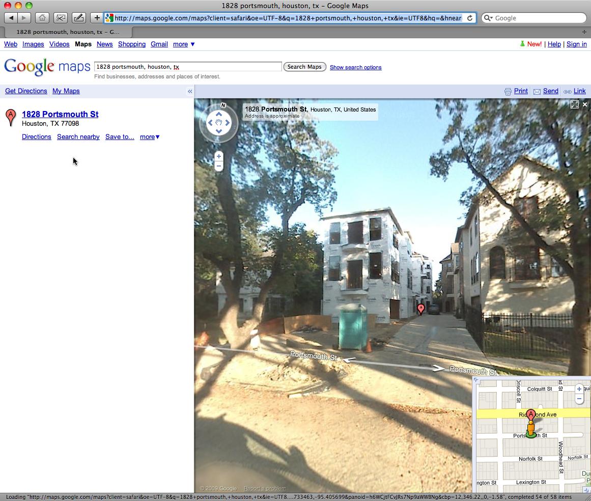 Google Street View — Richwood Place | Richwood Place - Houston Texas - Google Maps Street View Houston Texas