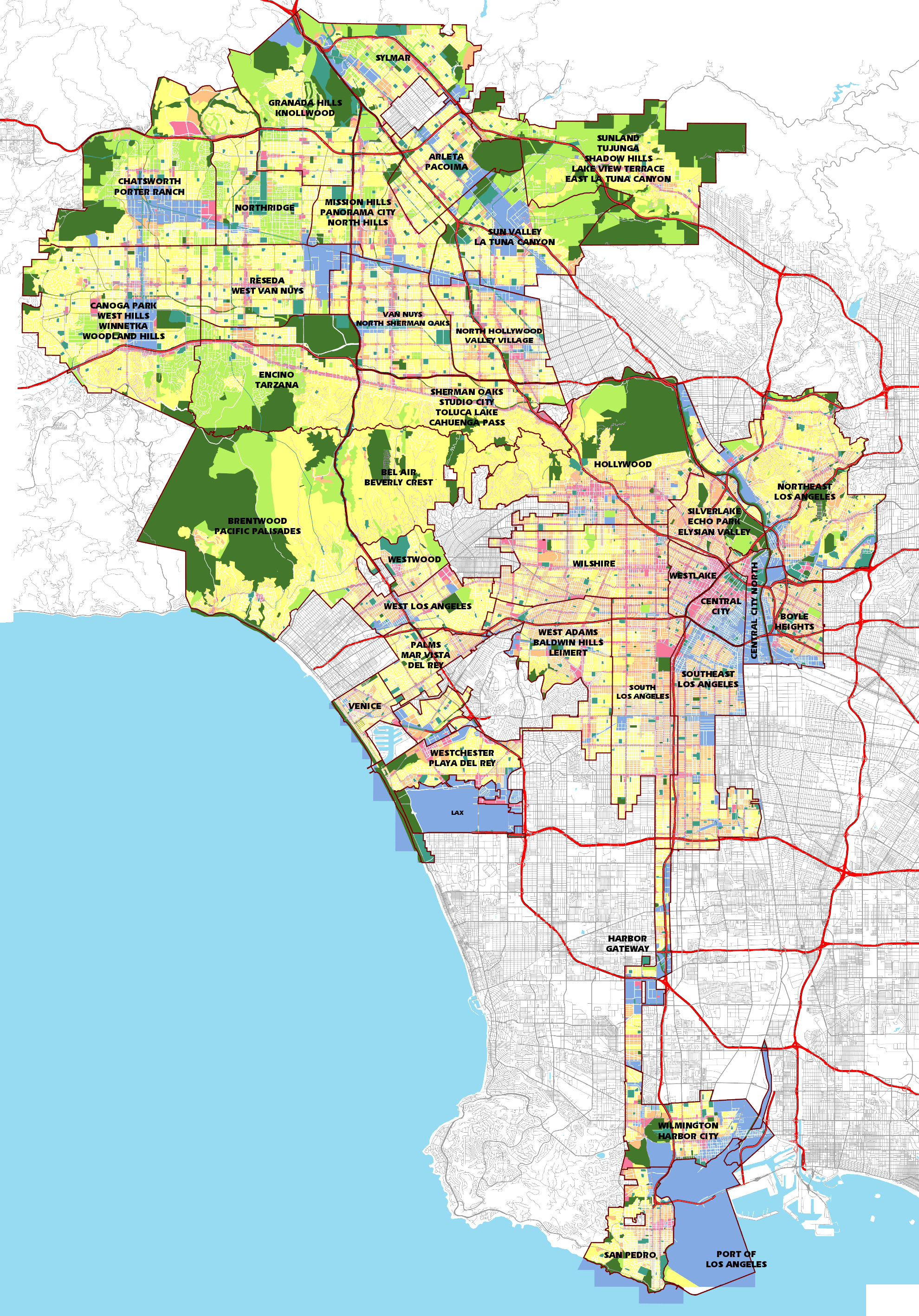 Granada Hills California Map - Klipy - Granada Hills California Map