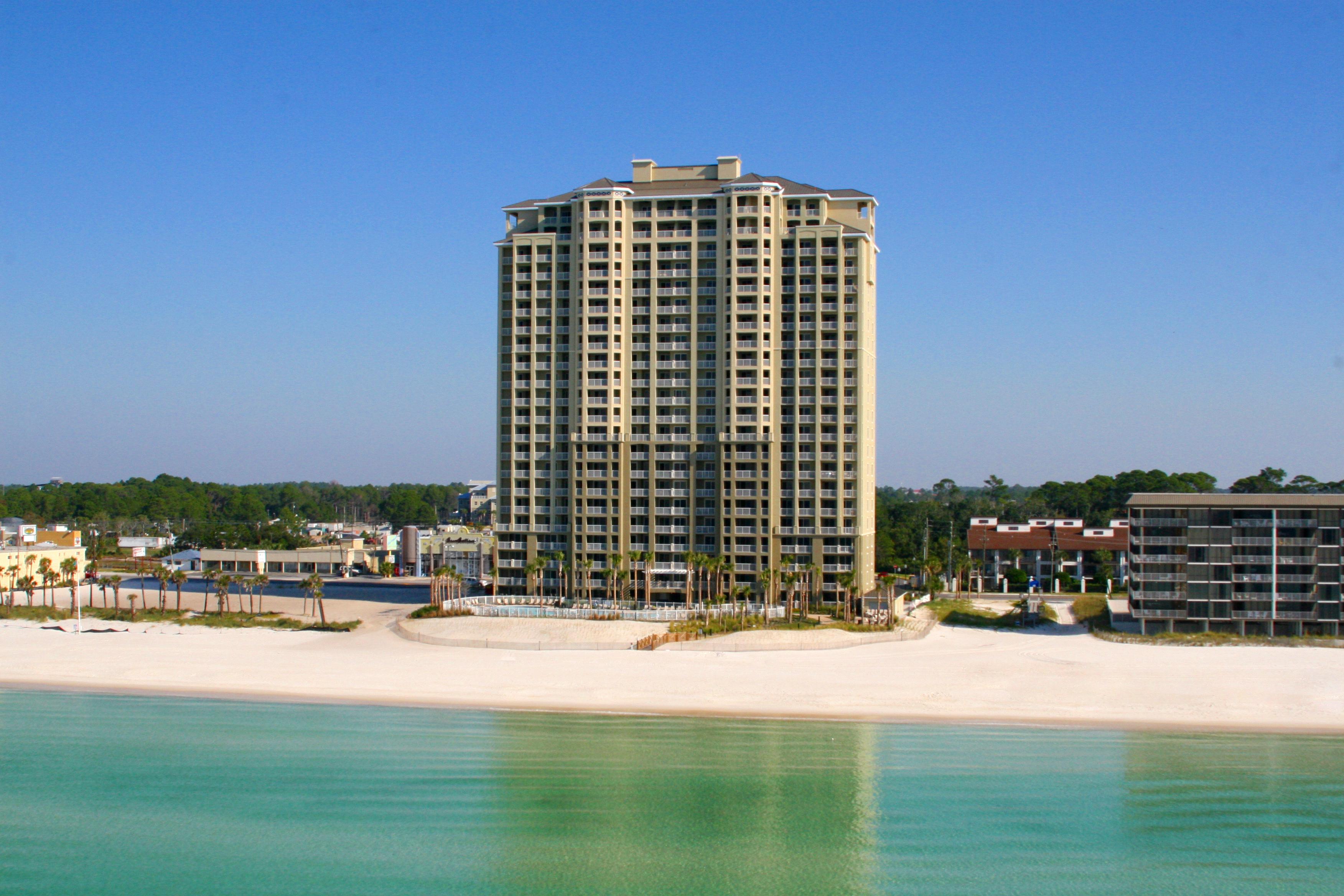 Grand Panama Beach Resort In Panama City Beach   Emerald View Resorts - Map Of Panama City Beach Florida Condos