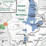 Grand Teton & Yellowstone National Park Map   Jackson Hole Traveler   Printable Map Of Yellowstone