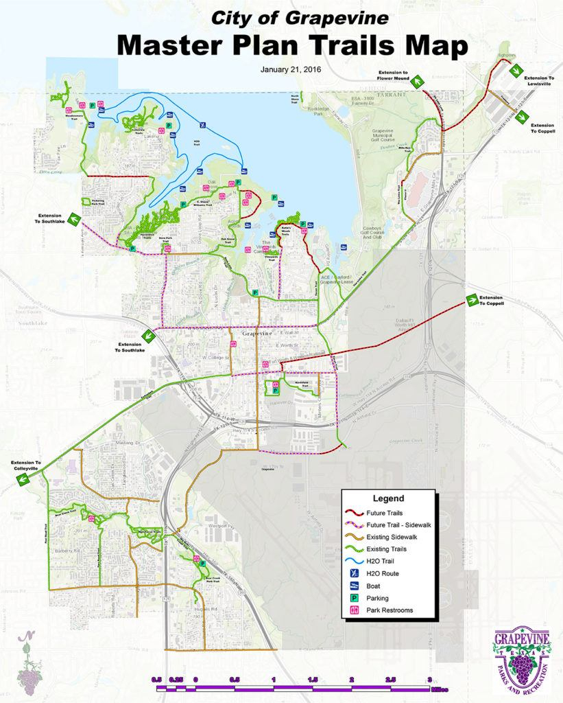 Grapevine Trails - Gograpevine - Southlake Texas Map