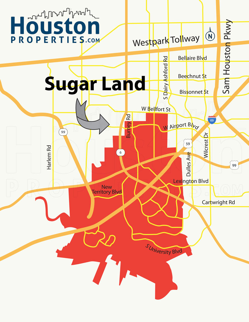Greatwood Sugar Land Tx Real Estate Guide | Greatwood Homes For Sale - Sugar Land Texas Map