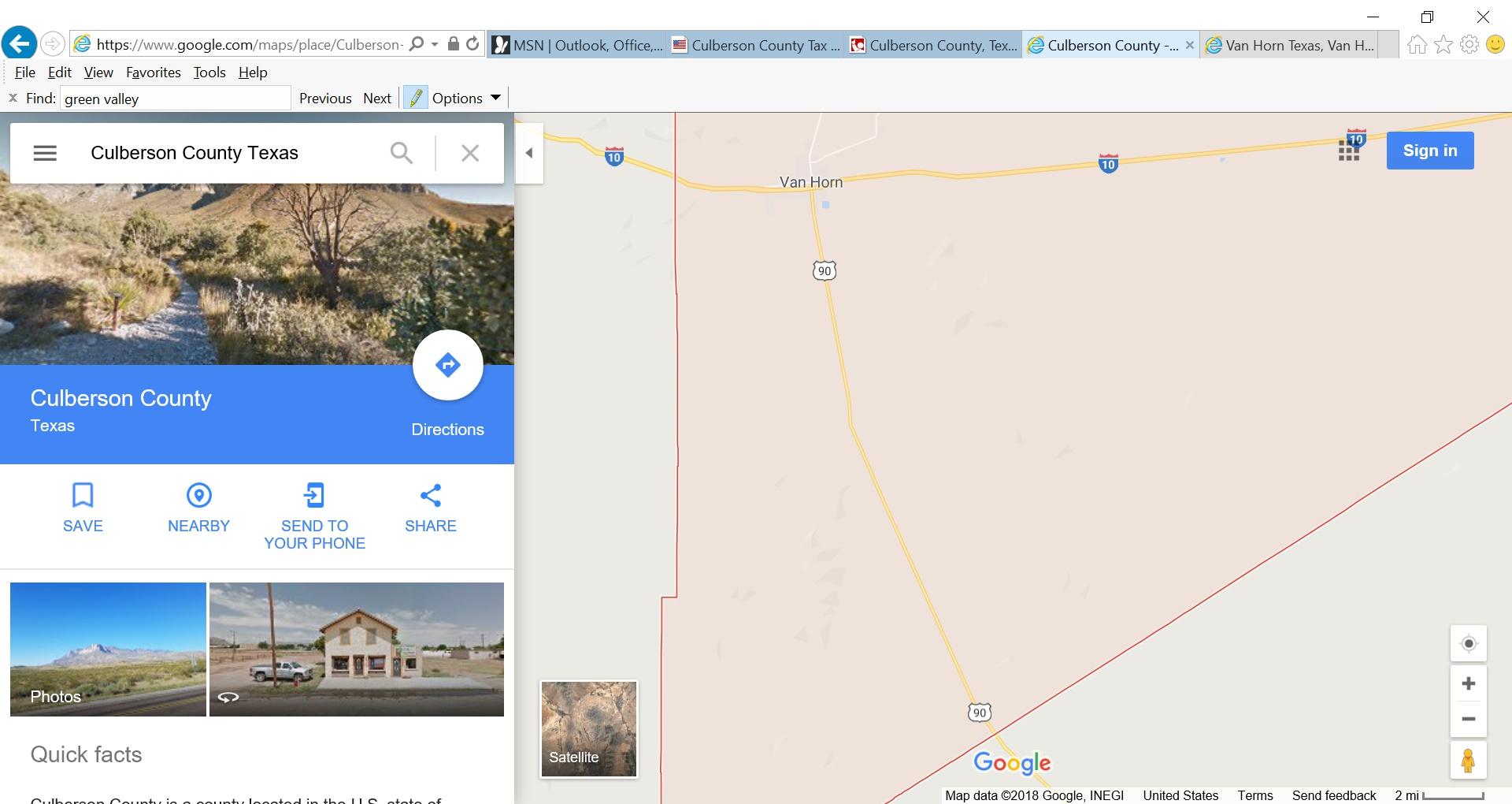 Green Valley Acres Culberson County, Van Horn, Tx 79855 - 4 Photos - Van Horn Texas Map