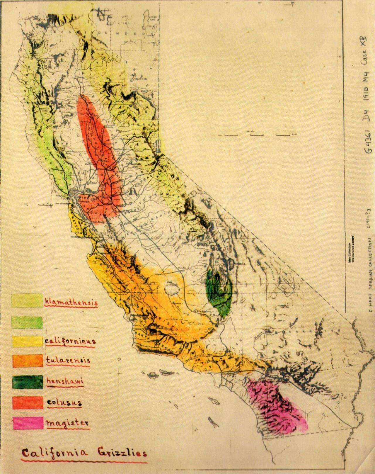 Grizzly Bear In California Map | Mapquest | Pinterest | California - Bears In California Map