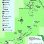 Guide To Springs In North Florida   Central Florida Springs Map
