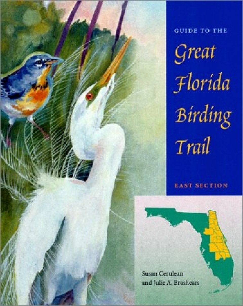 Guide To The Great Florida Birding Trail: East Section | Nhbs - Great Florida Birding Trail Map