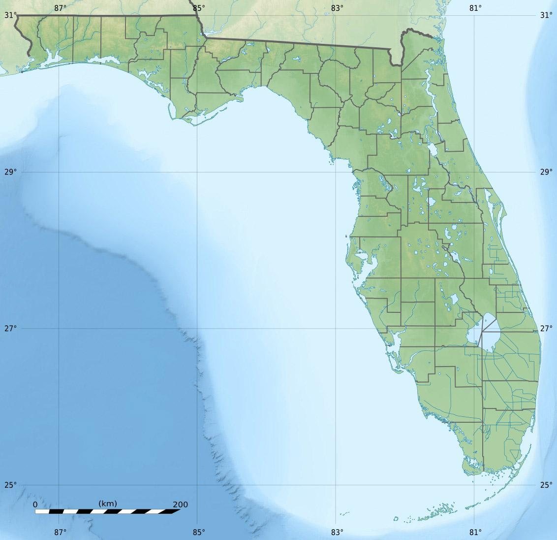 Gulf Islands National Seashore - Wikipedia - Florida Gulf Islands Map
