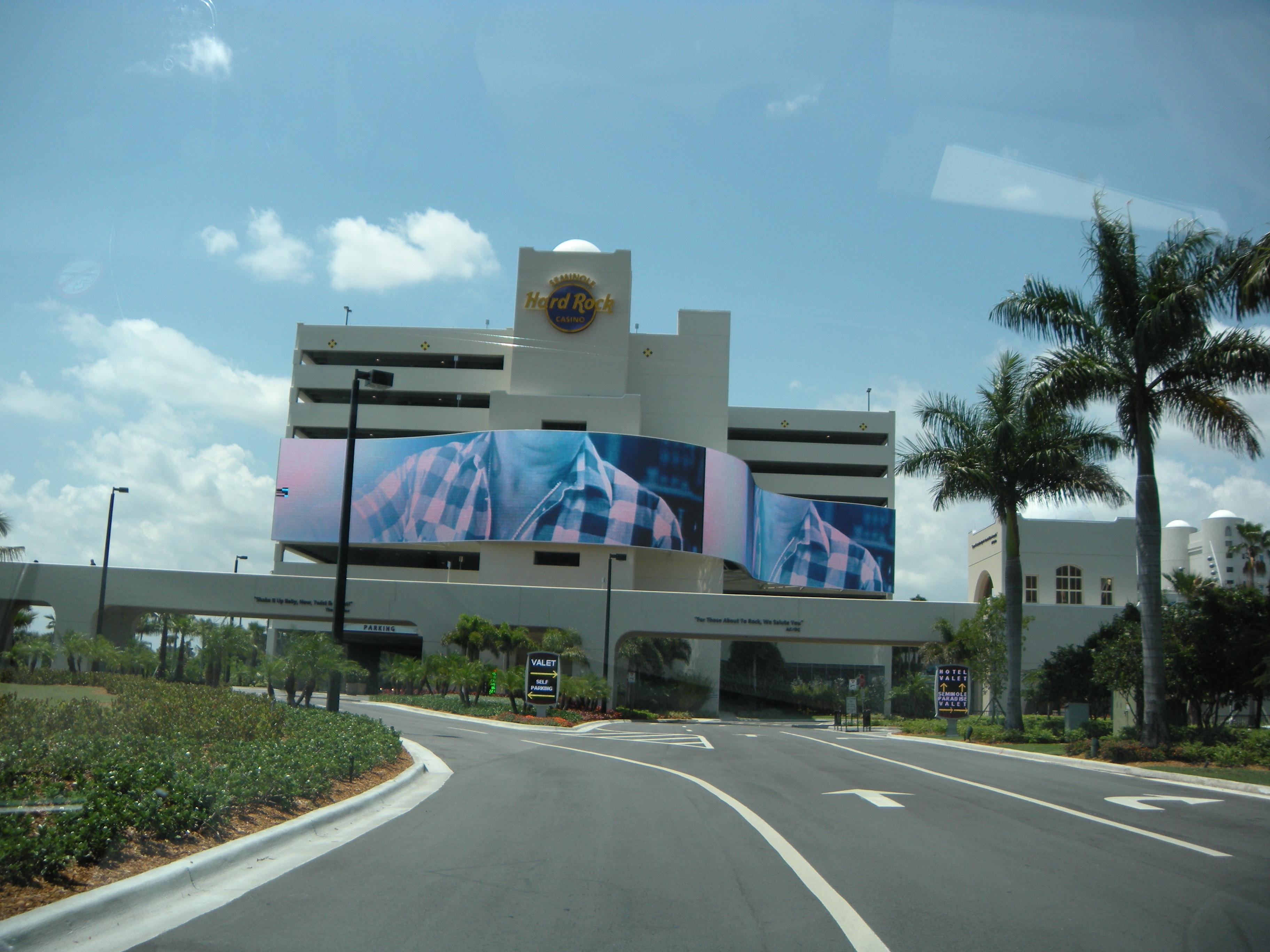 Hardrock Casino Hollywood Fl Map Seminole Hard Rock Hotel And Casino - Map Of Hotels In Hollywood Florida