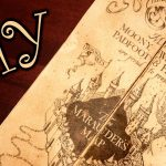 Harry Potter Marauder's Map   Diy   Youtube   Marauders Map Printable