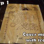 Harry Potter Paraphernalia: Marauder's Map: Inside And Outside   Marauders Map Printable