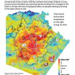 Heat Map Of San Antonio Conveys What's At Stake In Climate Plan   Texas Heat Map