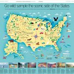 Hello From Nate & Salli | Maps | Pinterest | National Parks Map   Printable Map Of National Parks