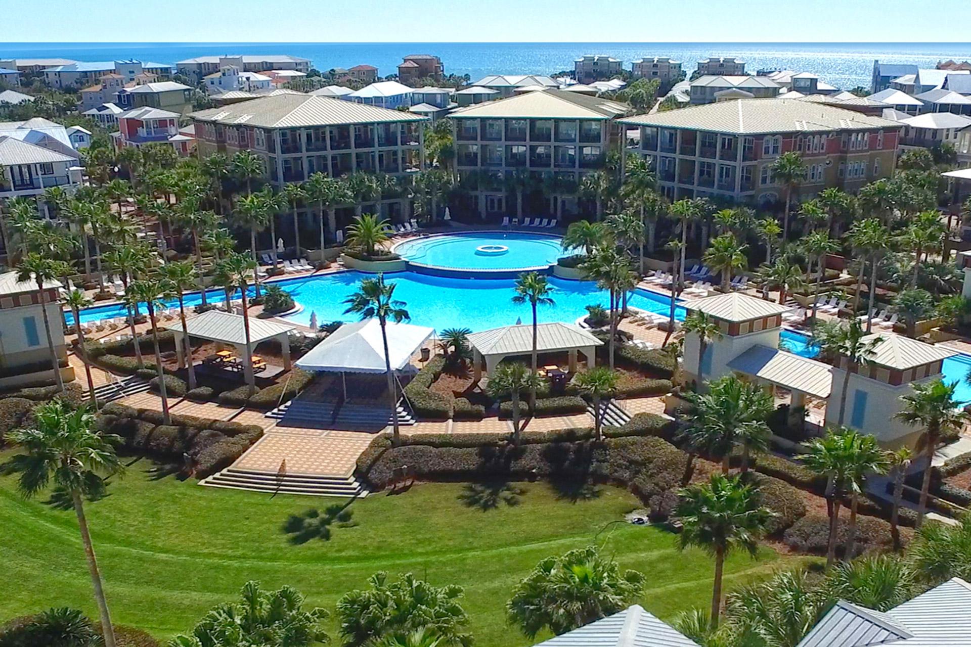Hemingway At 30A | Seacrest Beach Vacation Rentalsocean Reef Resorts - Sea Crest Florida Map