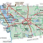 Henderson County | The Handbook Of Texas Online| Texas State   Van Zandt County Texas Map