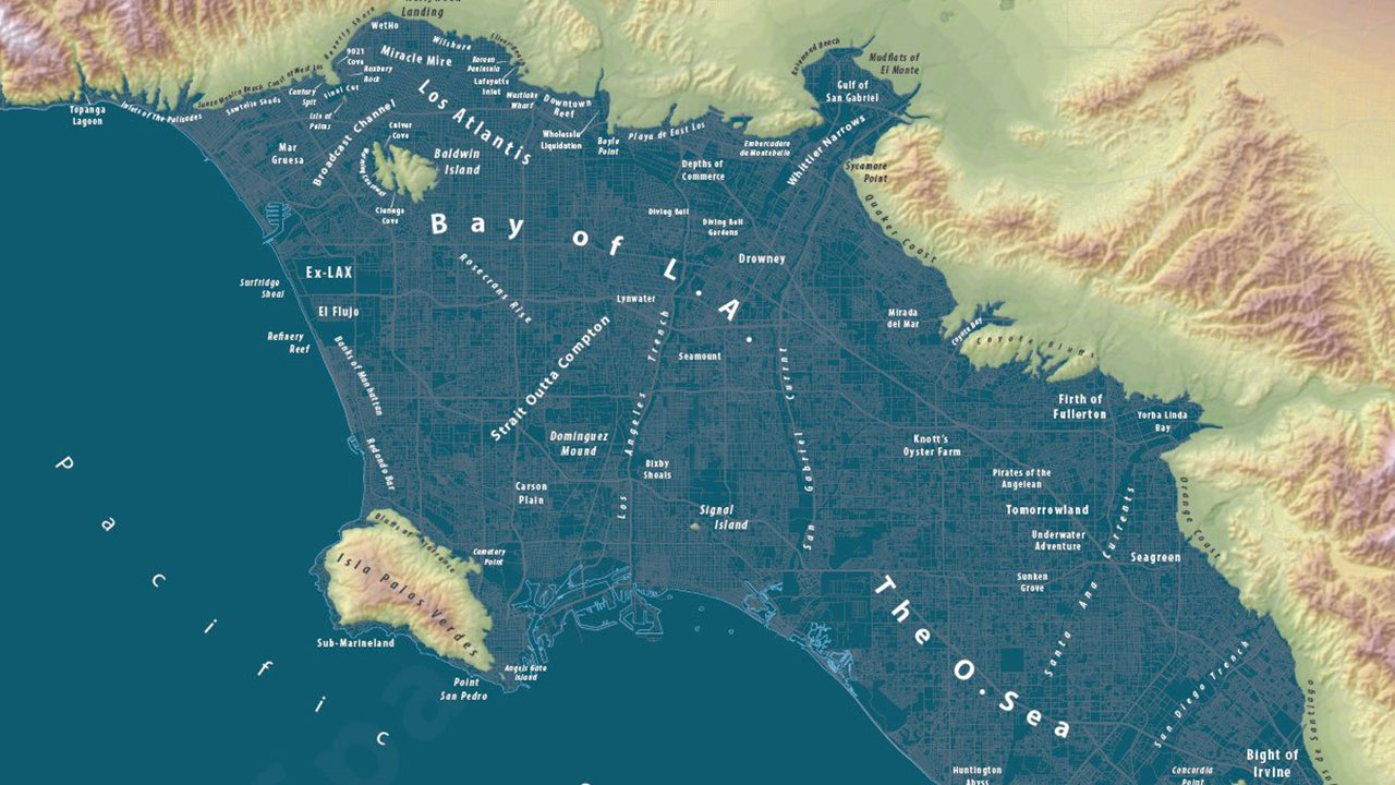 Here's What 250 Feet Of Sea Level Rise Looks Like | The Weather Channel - California Sea Level Rise Map