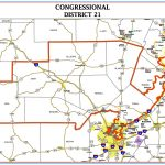 Here's Who's On The Ballot In Texas' Congressional District 21 Race   Texas Representatives District Map