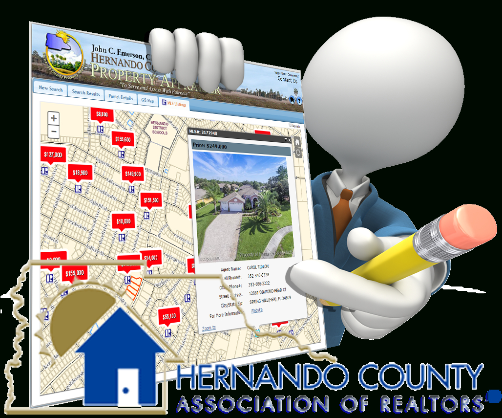 Hernando County Property Appraiser - Florida Sinkhole Map By County