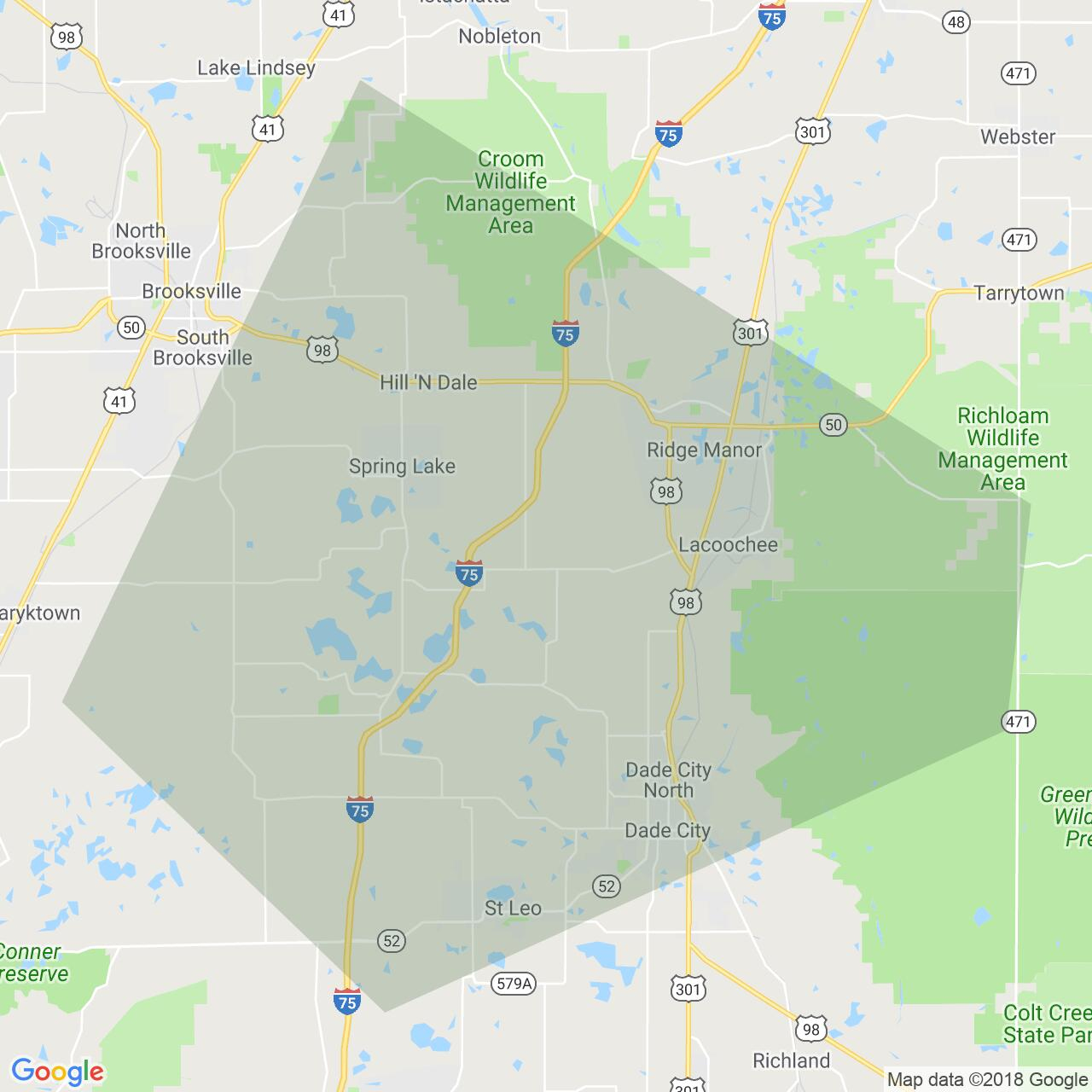 Hernando Florida Map - Hernando Florida Map