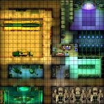 Heroclix Maps: Bunker Laboratory   Printable Heroclix Maps