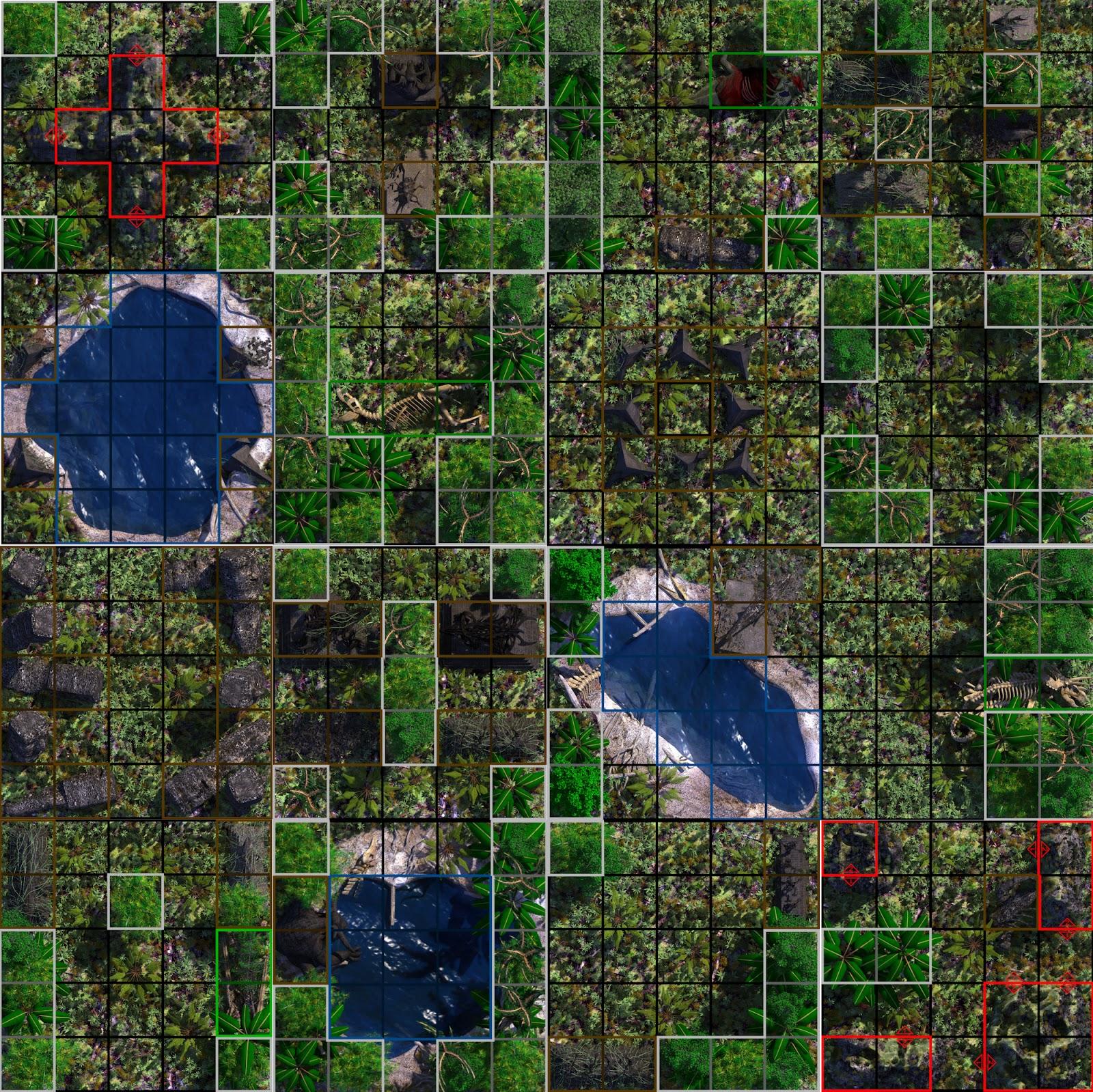 Heroclix Maps - Printable Heroclix Maps