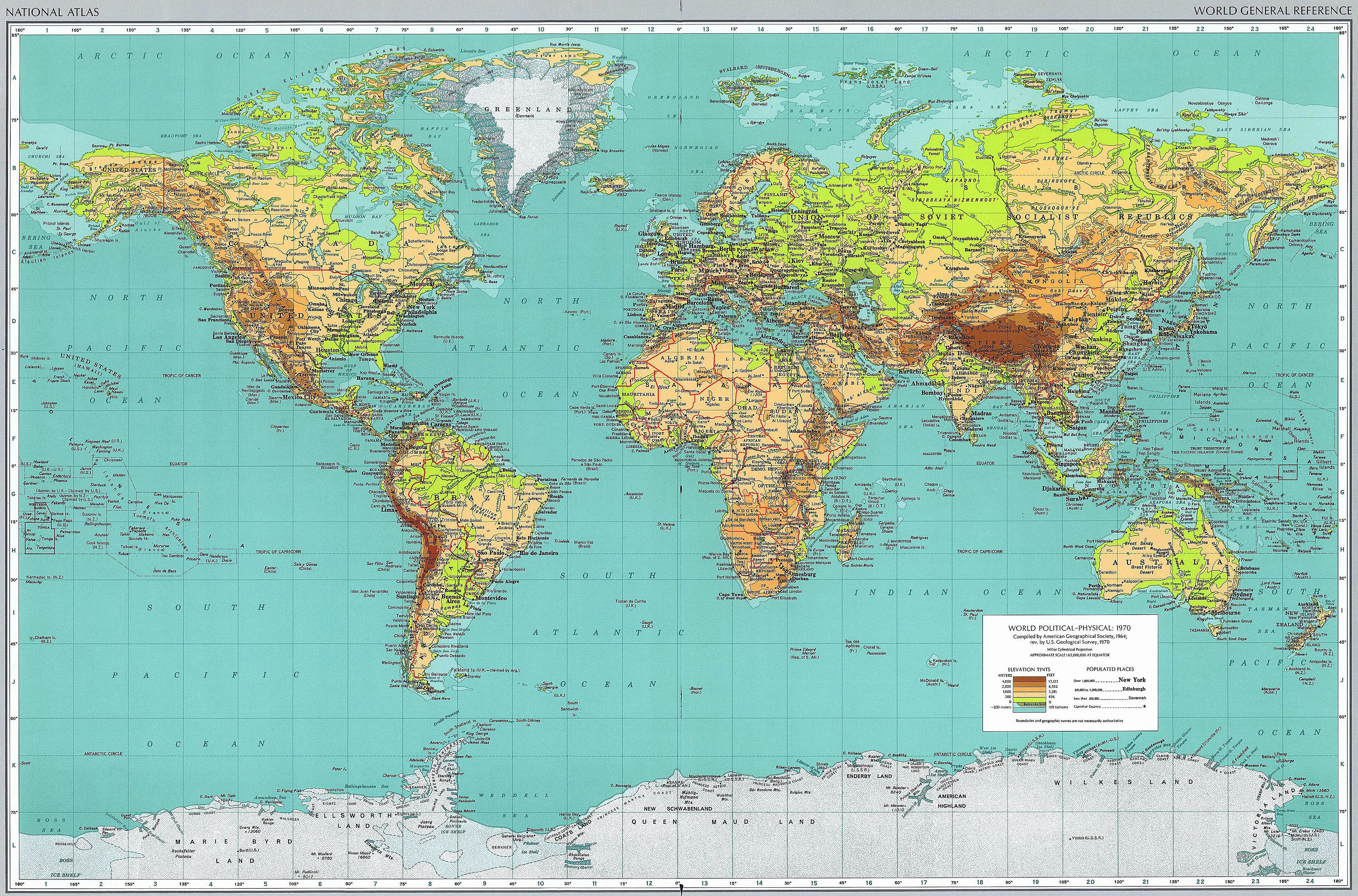 High Resolution Printable World Map - Yahoo Search Results Yahoo - National Geographic Printable Maps