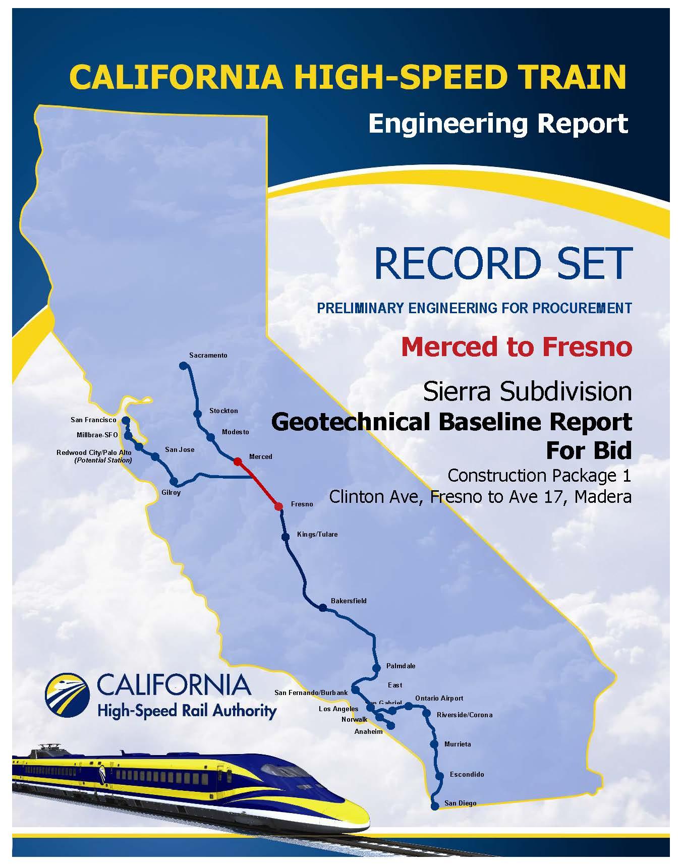 High Speed Rail California Map - Klipy - California High Speed Rail Project Map