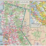 Highway Map Of Northern California   Klipy   Driving Map Of Northern California