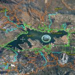 Hiking Map Big Bear Labeled Map With Bear Mountain California Map   Big Bear Mountain Map California