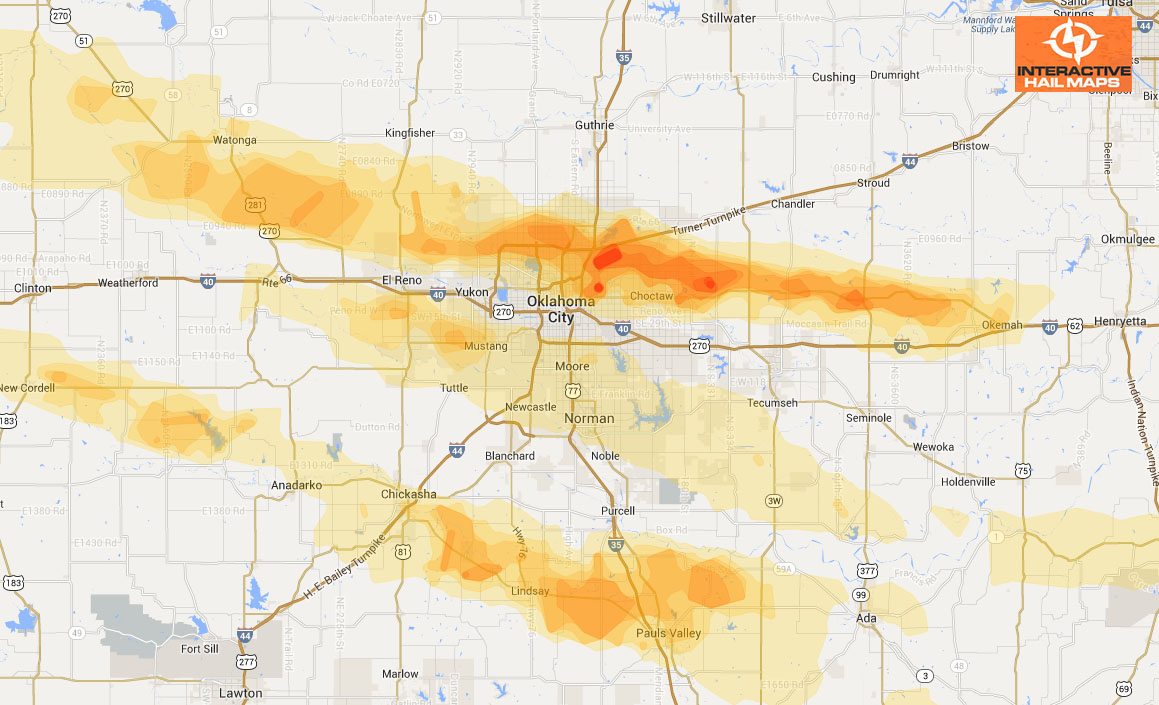 Historical Hail Maps Archives - Interactive Hail Maps - Hail Maps Texas