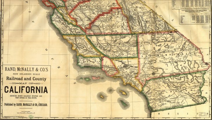 Old Maps Of Southern California