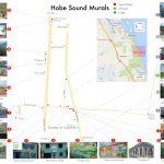 Hobe Sound Murals | Art & Culture | Martin County Florida   Map Of Florida Showing Hobe Sound