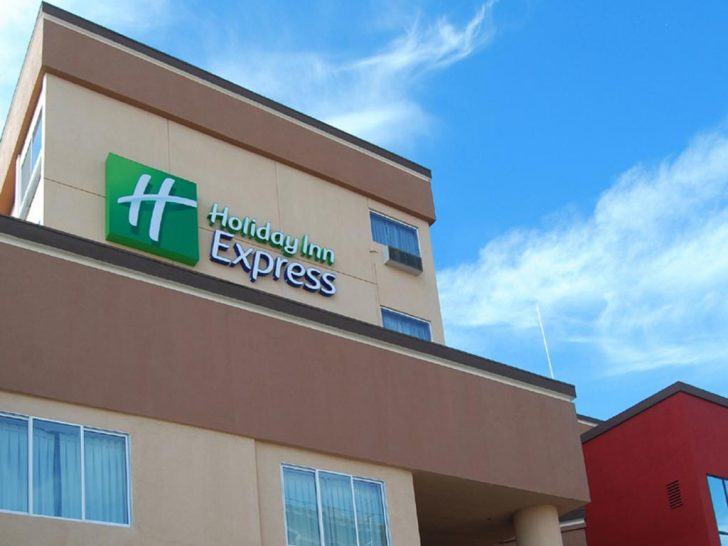 Map Of Holiday Inn Express Locations In California