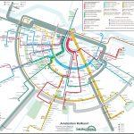 Holland Dutch Train / Rail Maps   Amsterdam Tram Map Printable