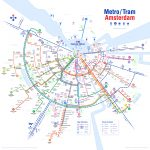 Holland Dutch Train / Rail Maps   Amsterdam Tram Map Printable