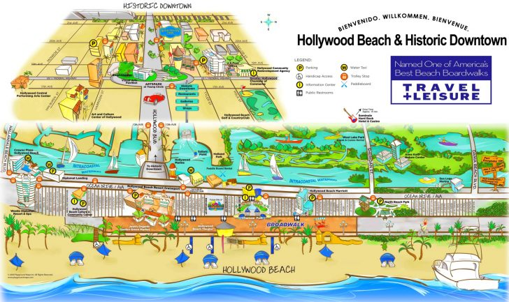 Map Of Hotels In Hollywood Florida