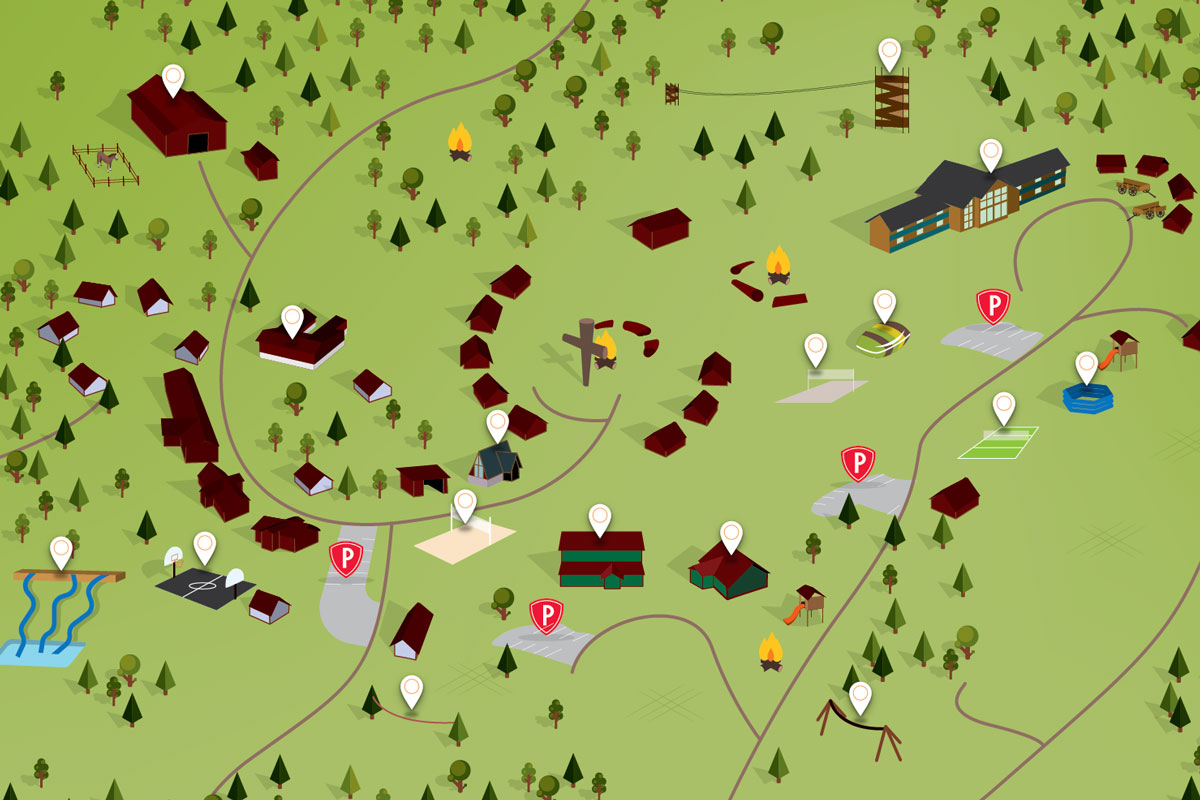 Horn Creek, Colorado | Sky Ranch Christian Camps - Sky Ranch Texas Map