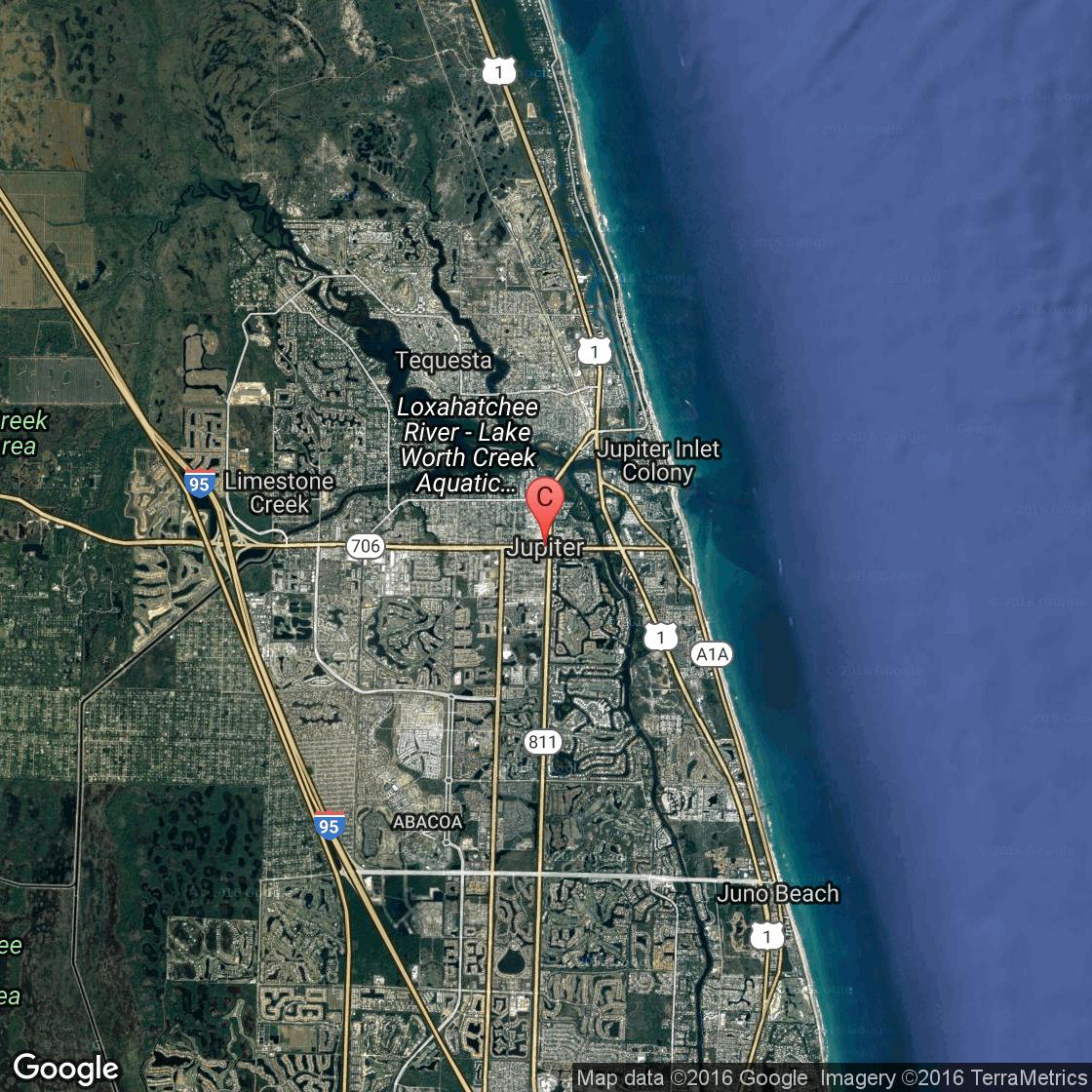 Horseback Riding Stables Near Jupiter, Florida | Usa Today - Google Maps Jupiter Florida