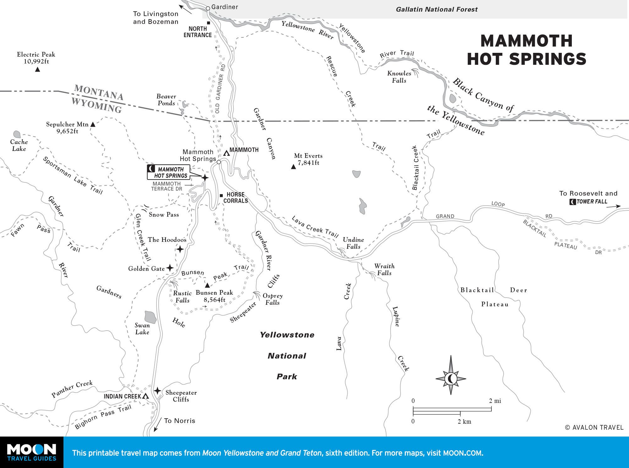 Hot Springs Southern California Map Detailed Image Result For - Mammoth California Map