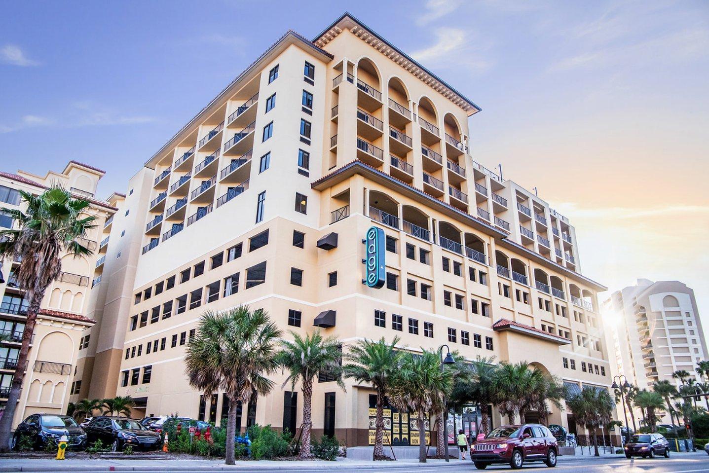 Hotel In Clearwater Beach Fl | Edge Hotel Clearwater Beach - Clearwater Beach Florida Map Of Hotels